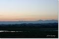 立山連峰から登る朝日