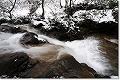 雪の七ツ滝